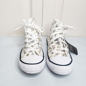 NWT Converse sparkle star high top sneakers